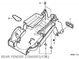 Honda CB600F HORNET 2002 (2) EUROPEAN DIRECT SALES parts