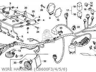 Honda CB600F HORNET 2006 (6) NETHERLANDS parts lists and