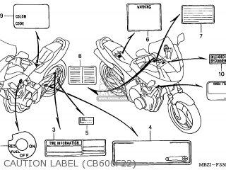 Honda CB600F2 HORNET 2002 (2) FRANCE BCT KPH parts lists