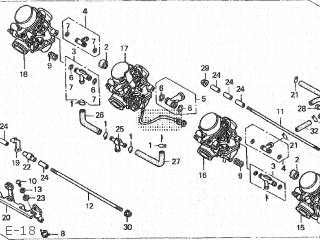 Honda CB600F2 HORNET-S 2000 (Y) JAPAN PC34-150 parts lists