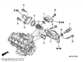 Honda CB600FA HORNET 2007 (7) ENGLAND parts lists and