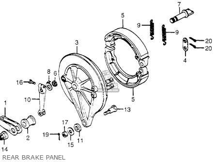 Honda Cb650 1979 Usa parts list partsmanual partsfiche