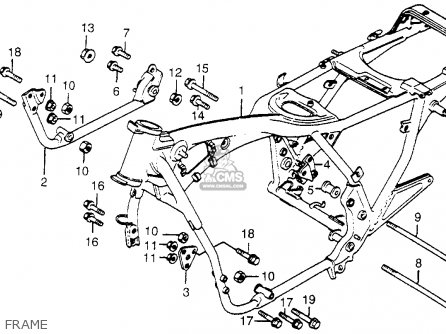 Honda Cb650 1979 (z) Usa parts list partsmanual partsfiche