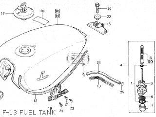 Honda CB650 1980 (A) CANADA parts lists and schematics