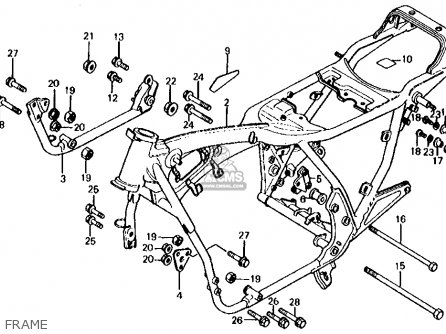 Honda CB650 1981 (B) USA parts lists and schematics