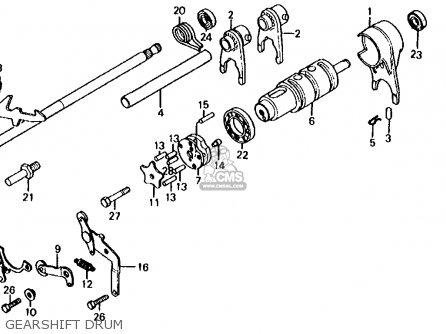 Honda Cb650 1981 (b) Usa parts list partsmanual partsfiche