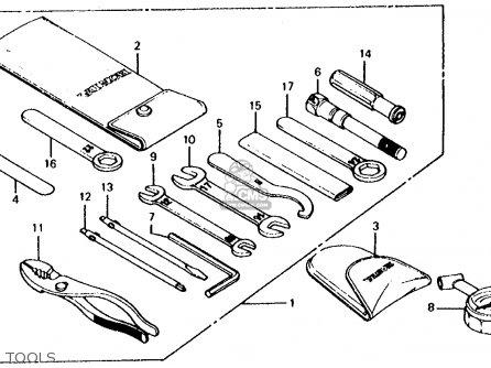 Honda Cb650c 1981 Usa parts list partsmanual partsfiche