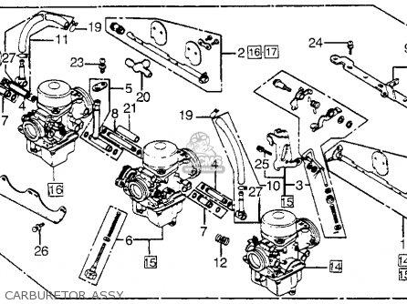 Honda Cb650sc 1982 Nighthawk 650 Usa parts list