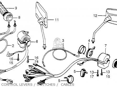 Honda Cb650sc 1983 Nighthawk 650 Usa parts list
