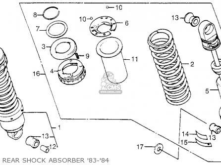 Honda Cb650sc 1984 Nighthawk 650 Usa parts list