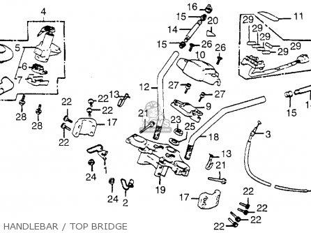 Honda CB650SC NIGHTHAWK 1982 (C) USA parts lists and