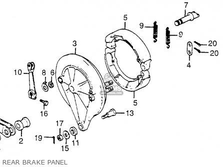 Honda Cb650sc Nighthawk 1982 (c) Usa parts list