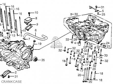 Honda CB650SC NIGHTHAWK 1983 (D) USA parts lists and