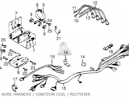 Honda Cb650sc Nighthawk 1983 (d) Usa parts list
