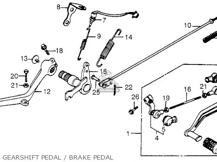 Honda Cb650sc Nighthawk 1984 (e) Usa parts list
