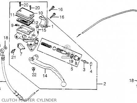 Honda Cb650sc Nighthawk 1985 (f) Usa parts list