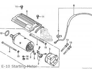 Honda Cb650z parts list partsmanual partsfiche