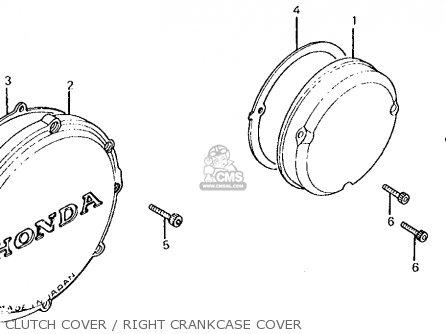 Honda Cb700sc Nighthawk S 1984 (e) Usa parts list