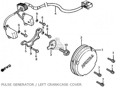 Honda CB700SC NIGHTHAWK S 1984 (E) USA parts lists and