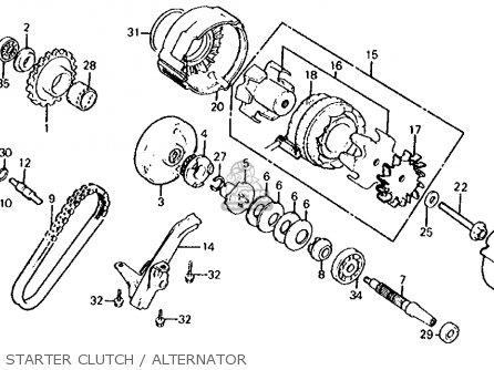 Honda CB700SC NIGHTHAWK S 1986 (G) USA parts lists and