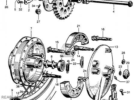 Honda Cb72 Hawk 1961 Usa parts list partsmanual partsfiche