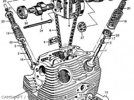 Honda Cb72 Hawk 250 1961 Usa parts list partsmanual partsfiche
