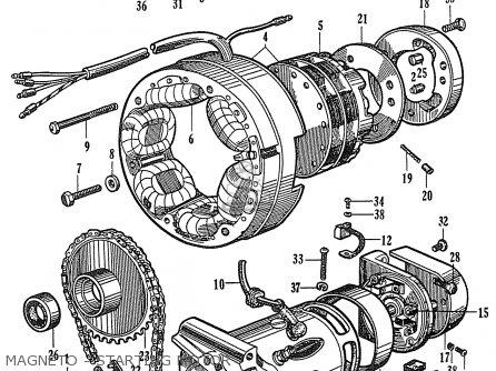 Honda CB72 HAWK '60 '61 '62 '63 '64I '64II GENERAL EXPORT