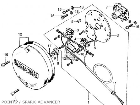 Honda Qa50 Engine besides Honda Z50 Headlight additionally Honda Carburetor Kit likewise 1970 Cb450 Wiring Diagram further Honda Sl350 Wiring Harness. on 1973 honda cb350 wiring diagram