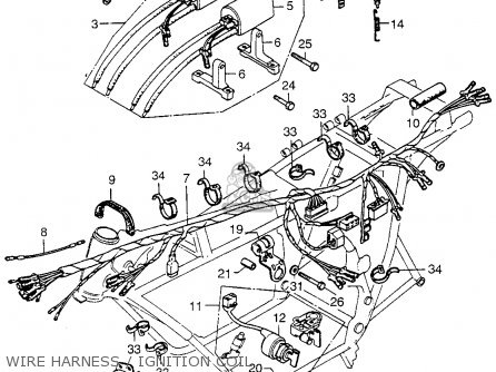 Honda Cb750 Four K5 1975 Usa parts list partsmanual partsfiche