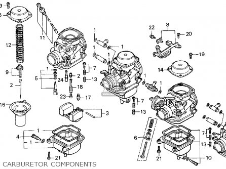 Honda Cb750 Nighthawk 1991 (m) Usa parts list partsmanual