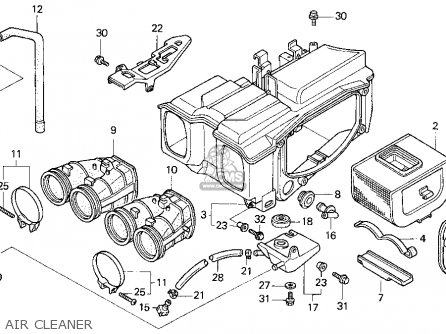 Honda Cb750 Carburetor Diagram, Honda, Free Engine Image