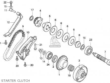 Honda Cb750 Nighthawk 1995 (s) Usa parts list partsmanual