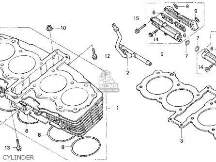 Honda CB750 NIGHTHAWK 1996 (T) USA parts lists and schematics
