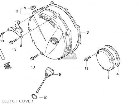 Honda Cb750 Nighthawk 1999 (x) Usa parts list partsmanual