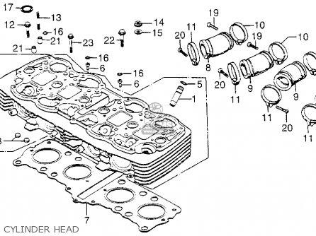 Cb 750 K5 Wiring Diagram 1975 Honda CB750 Parts Diagram