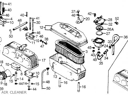 Honda CB750A 750 HONDAMATIC 1977 USA parts lists and