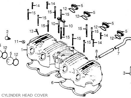 Honda Cb750a 750 Hondamatic 1978 Usa parts list