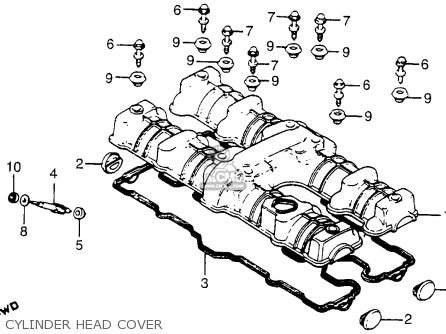 Honda CB750C 750 CUSTOM 1980 (A) USA parts lists and