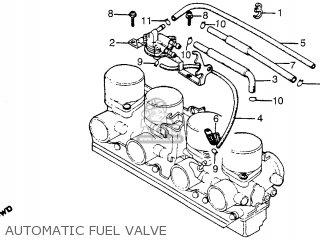 Honda CB750C 750 CUSTOM 1981 (B) USA parts lists and