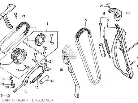 Honda Cb750f 1979 (z) Canada parts list partsmanual partsfiche