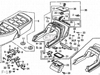 Honda CB750F 1979 (Z) JAPAN RC04-100 parts lists and