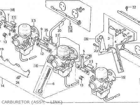 Honda CB750F 1980 (A) ENGLAND parts lists and schematics