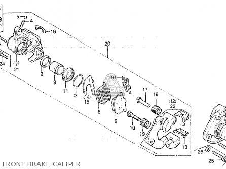 Honda Cb750f 1980 (a) European Direct Sales parts list