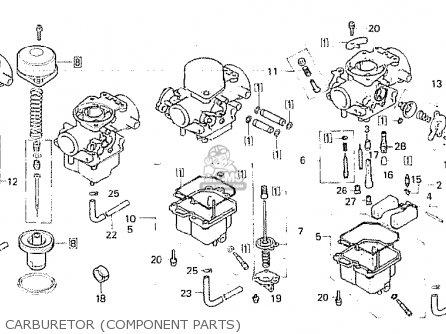 Honda CB750F 1980 (A) FRANCE parts lists and schematics