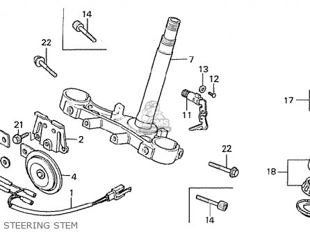 Honda CB750F 1980 (A) GERMANY parts lists and schematics