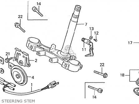 Honda CB750F 1981 (B) AUSTRALIA parts lists and schematics