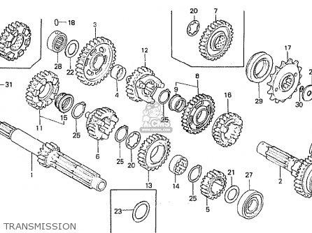 Honda Cb750f 1981 (b) France parts list partsmanual partsfiche