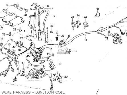 Honda CB750F 1981 (B) GERMANY parts lists and schematics