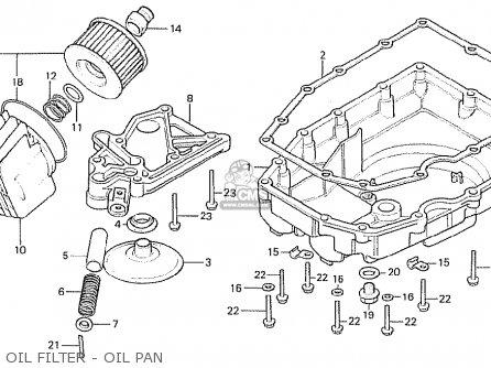 Honda Cb750f 1982 (c) England parts list partsmanual
