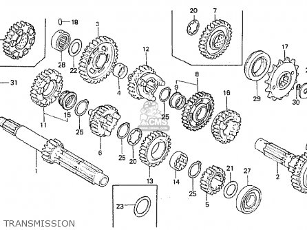 Honda CB750F 1982 (C) FRANCE parts lists and schematics